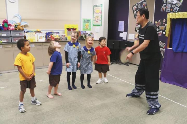 澳洲Jerry教授 :互动体验式教学在早幼教的应用