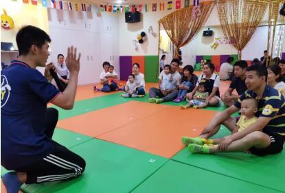 运动宝贝陕西西安早教中心:特权卡客户专场活动