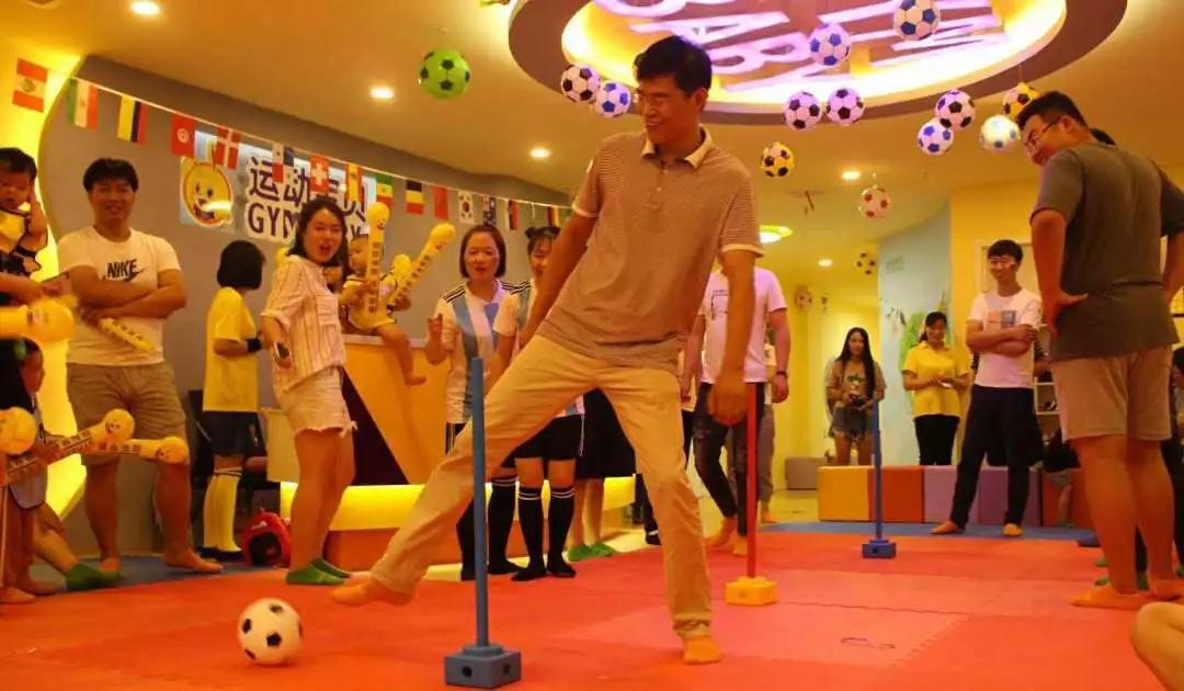 活動預告 | 趣味足球,快樂運動,鴕鳥足球走進運動寶貝早教中心